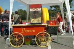 Mobiler Popcornstand