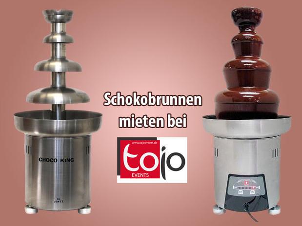 Schokobrunnen / Schokoladenbrunnen