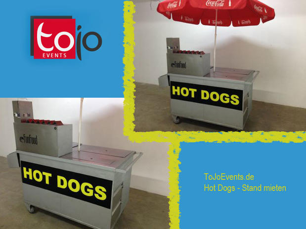 Edelstahl Hot Dog Wagen