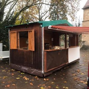 Verkaufshütte Weihnachtsmarkthütte