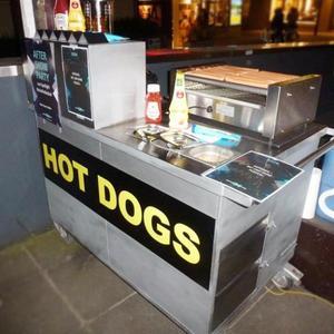 Hot Dog Wagen