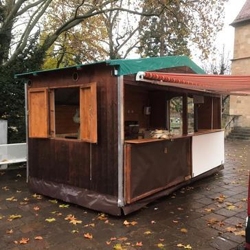 Verkaufshütte/Weihnachtsmarkthütte