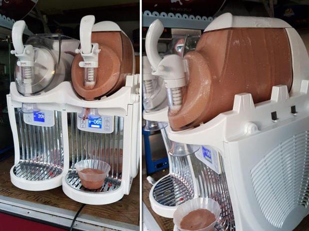 Frozen Yoghurt-Maschine klein