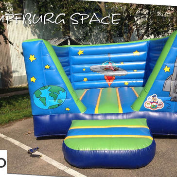 Hüpfburg Space
