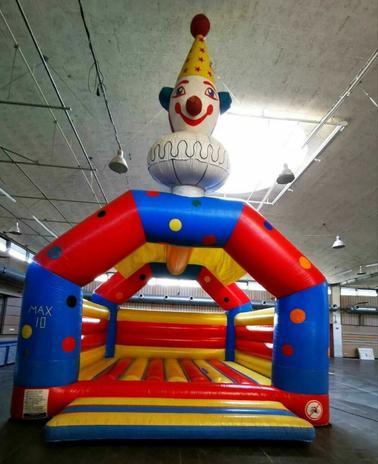 Hüpfburg Big-Clown