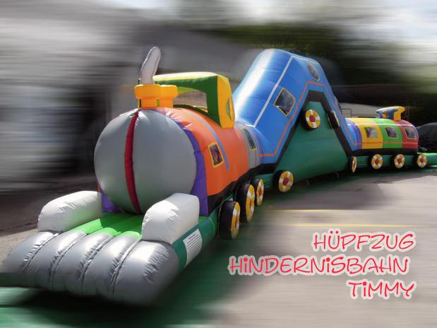 Hüpfzug Hindernisbahn Timmy