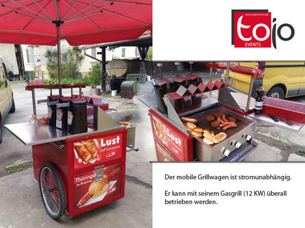 Mobiler Grillwagen