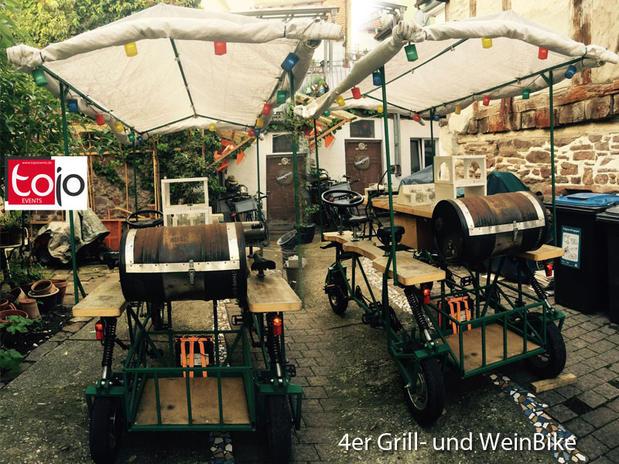 4er-Grill- und PartyBike