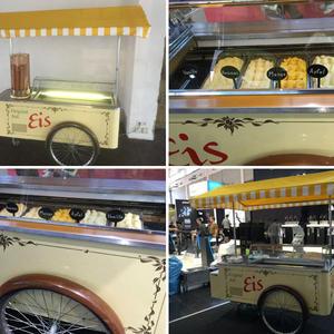 Klassischer Eiswagen